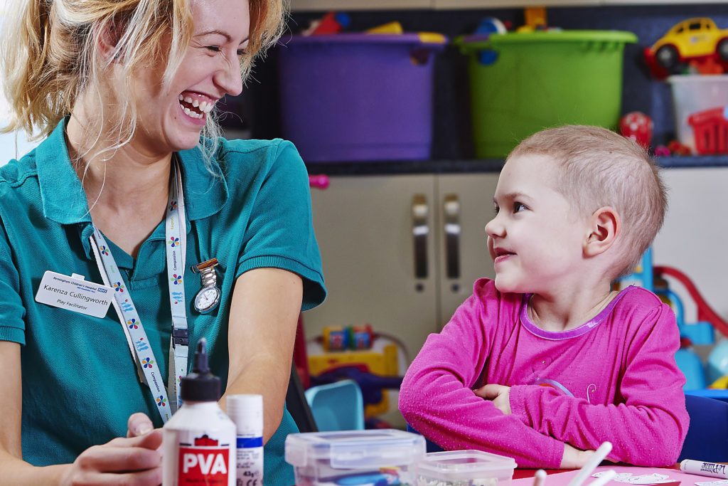 Picture © Daniel Graves Photography. 2014. SHOWS: 2014 Annual Report Photography at Birmingham Children's Hospital