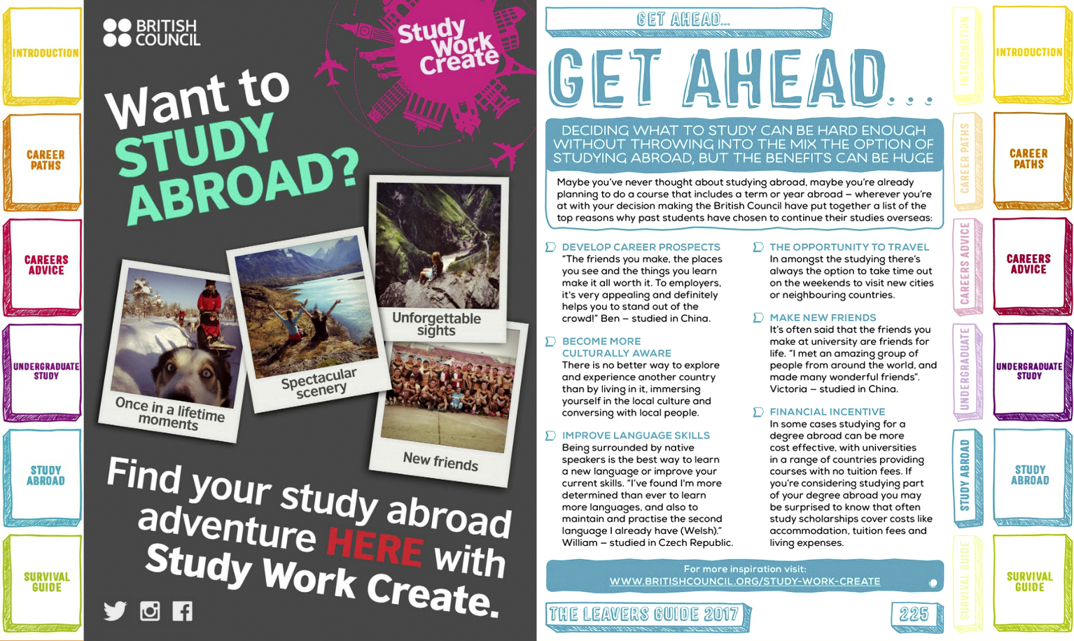 studying abroad or locally